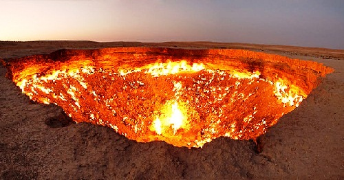 Turkmenistan Gates of Hell