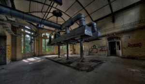 Abandoned creepy Hospital of Hitler