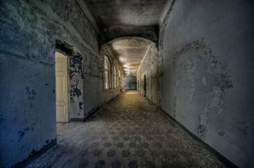 Abandoned creepy Hospital of Hitler