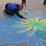 sand paintings by Joe Mangrum