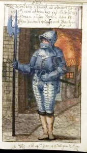 Schwarz in the battle for the Emperor Charles V. Here he was 46 years old