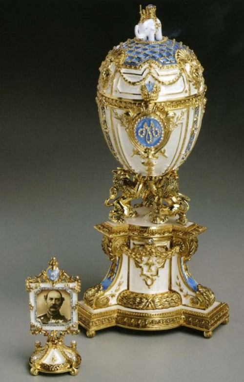 Imperial Danish Jubilee Egg ca. 1903