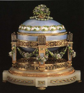 Cradle with Garland's Egg ca. 1907