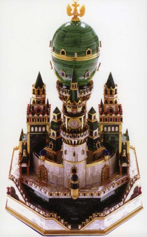 Moscow Kremlin Egg ca. 1906