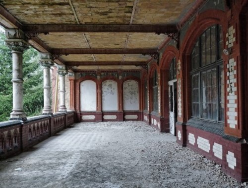 Abandoned creepy Hospital of Hitler in Berlin, Germany