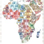money map of Africa