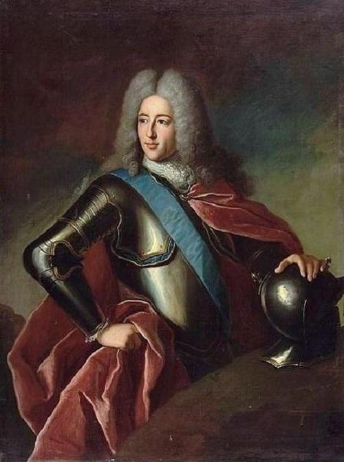French Prince Louis-Henri de Bourbon