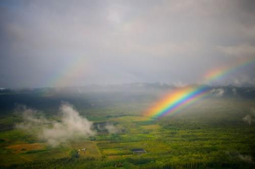 Multiple rainbows