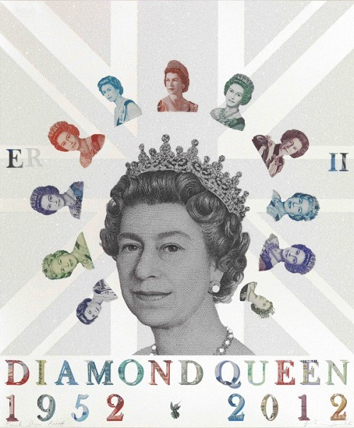 tribute to the Diamond jubilee of the British Queen