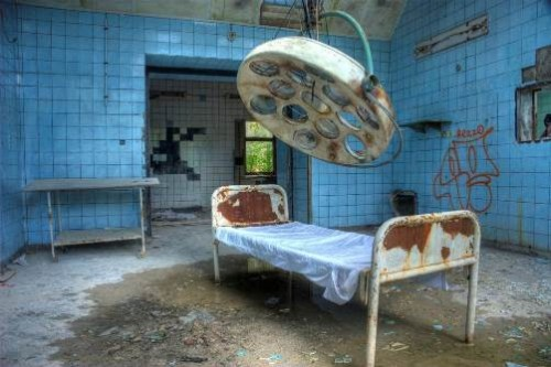Creepy Abandoned Hospital in Berlin, Germany