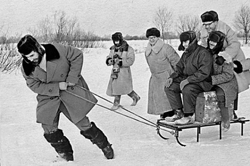Fidel Castro in Russia, 50 years ago