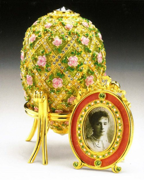 Imperial Rose Trellis egg