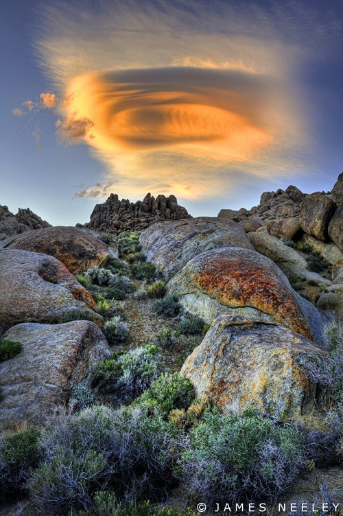 Mysterious Lenticular clouds