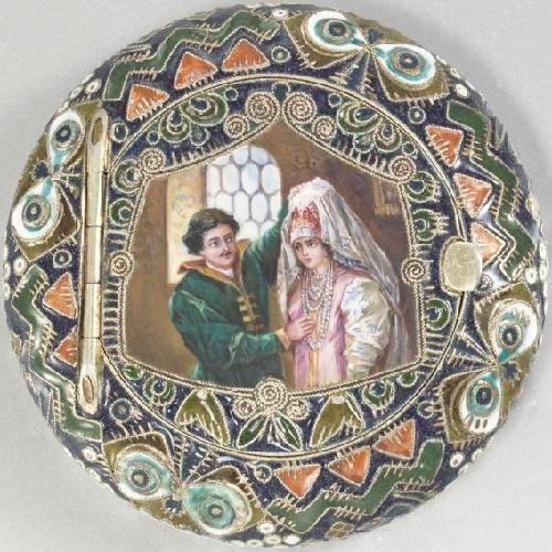 Russian jeweler Feodor Ruckert