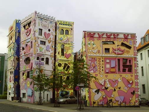 Famous Happy Rizzi House in Braunschweig, Germany