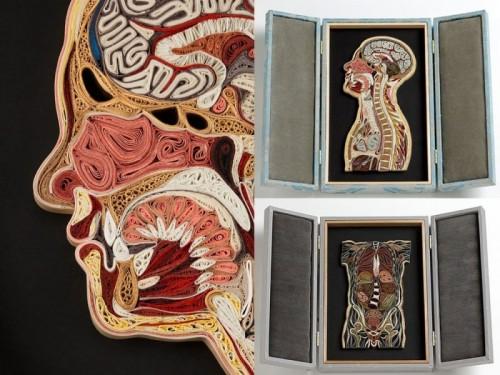 Human body parts by Lisa Nilsson