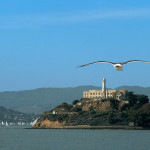 Alcatraz prison on Pelican Island