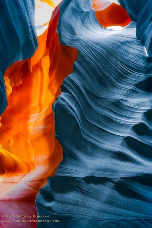 colors of Antelope Canyon