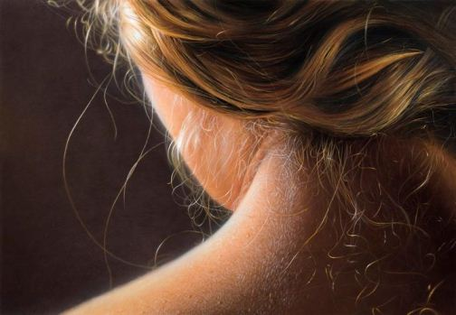 Hyperrealistic painting by Swedish artist Johannes Wessmark