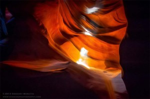 Antelope Canyon, photographer Gregory Boratyn