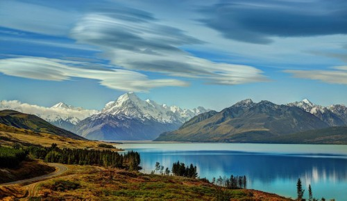Lake Pukaki, New Zealand (Trey Ratcliff)