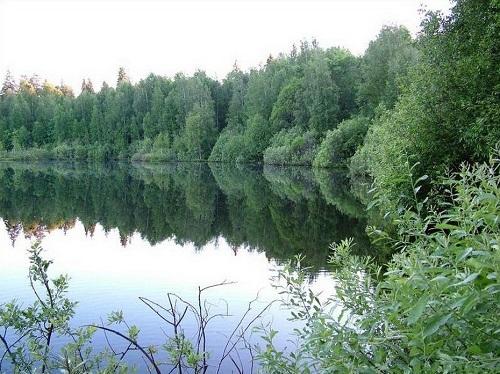 Lake Shaitan, Urzhum, Kirov Oblast, Russia