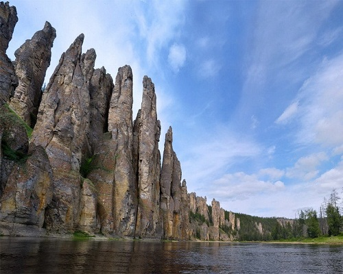 Lena Pillars — national park in Siberia, Russia