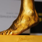 Lionel Messi's left foot in solid gold for $ 5.25 million