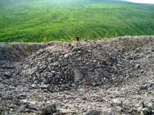Patomskiy crater