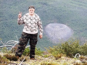 Federation Council Speaker Sergei Mironov at Patomskiy crater, 2010