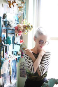 NYC stylist and model Linda Rodin