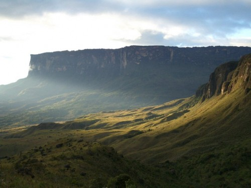 Roraima remained unexplored until 1884