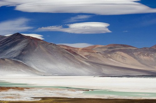 Salar de Talar close to the village of San Pedro de Atacama, Chile (Luca Galuzzi).
