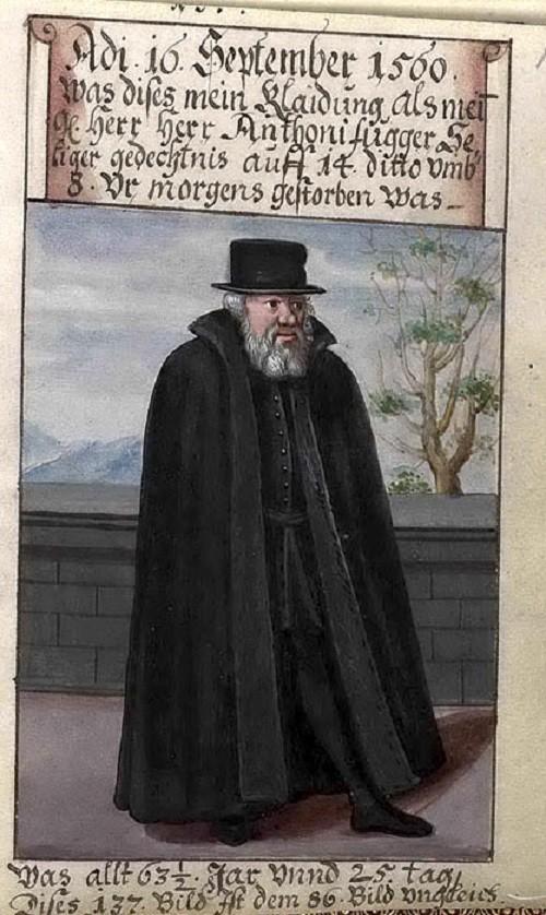 Matthaus Schwarz founder of fashion from XVI century