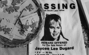 The hunt for Ms Dugard took 18 years before she returned home safe in 2009