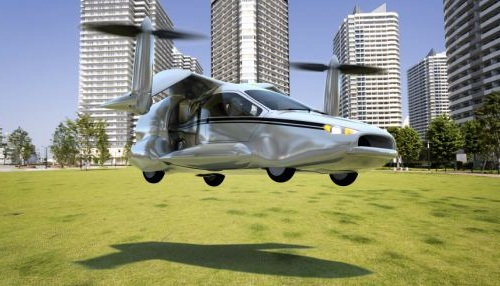 cars could switch from driving to flying when they encounter traffic