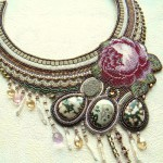 Beaded necklace by Olga Orlova