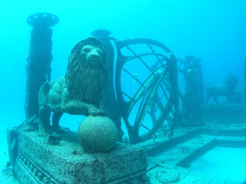 Neptune Memorial Reef - the world's first underwater cemetery and memorial park