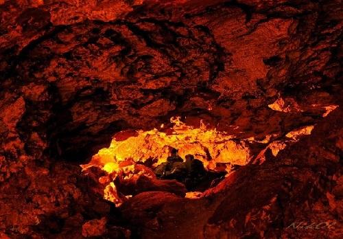 Kungurskaya cave, coral grotto