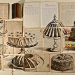 The paintings on the pages of old books, artist Ekaterina Panikanova