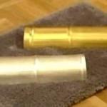 Gold foot massager