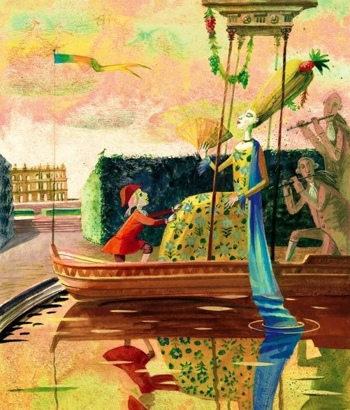 The world of Mozart in illustrations by Russian artist Victoria Fomina