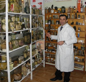 The director and founder of the museum, Yuri Schukin