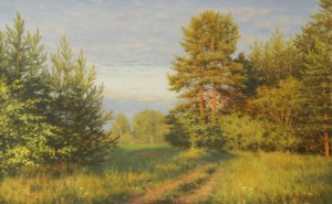 Landscape paintings by Russian artist Vladimir Alexandrov