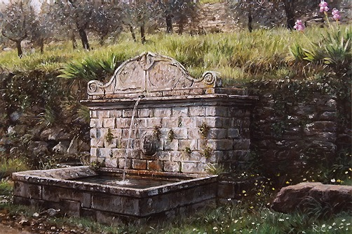 Tuscan Fountain