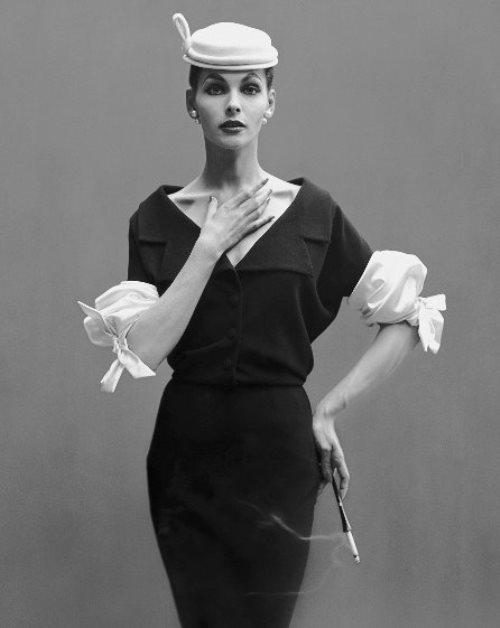 Georgia Hamilton. Balenciaga. 1953