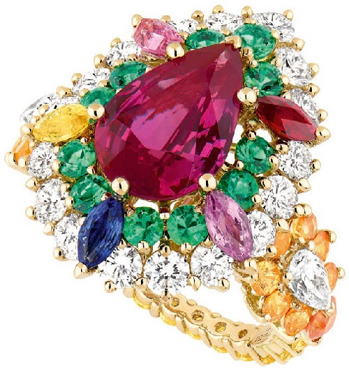 Cher Dior Exquise Ruby ring