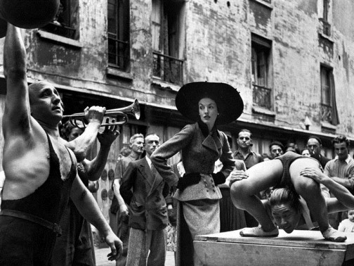 Elise Daniels, Balenciaga 1948