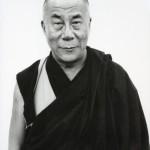 His Holiness the Dalai Lama. India, Kamataka January 6, 1998