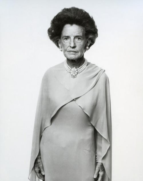 The mother of President John F. Kennedy Rose Fitzgerald Kennedy. Massachusetts, Hyannis Port in 1976